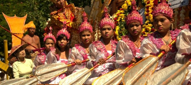 Radtour durch Mandalay
